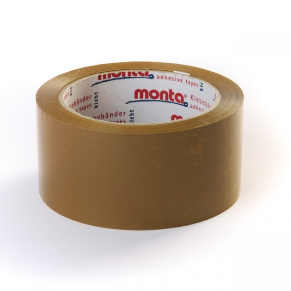 Monta® 610 PP Tape brun low noise - Hildebrandt Emballage Shop