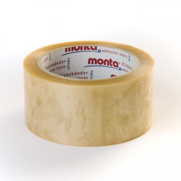Monta® 220 PVC Tape klar - Hildebrandt Emballage Shop