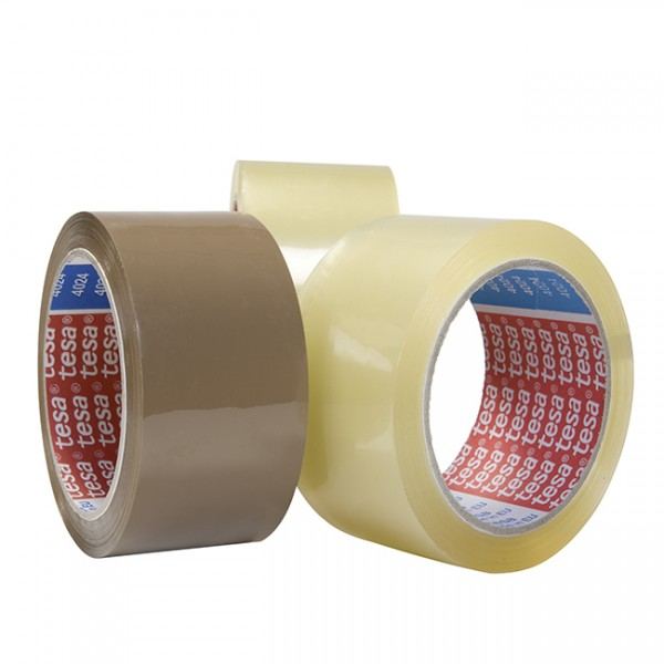 tesa® 4024 PP-Tape, klar, 50 mm x 66 m