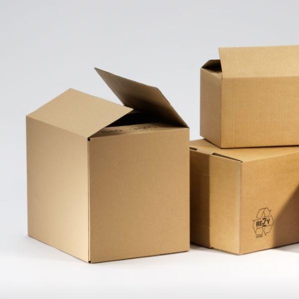 Enkeltlags Papkasser 150 x 100 x 100