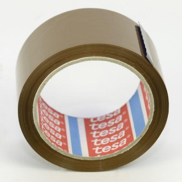 Tesa® 64014, PP-tape, 50 mm x 66 m, brun