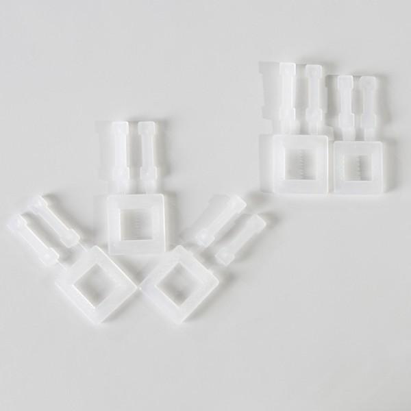Plastspændere til PP-Omsnøringsbånd - Til båndbredde 13 mm