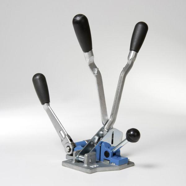 Spænde- og lukkeapparat PLR - Til båndbredde 16 mm