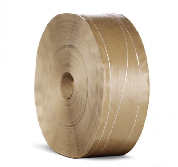 Klæberuller, forstærket brun 80 mm - Hildebrandt Emballage Shop